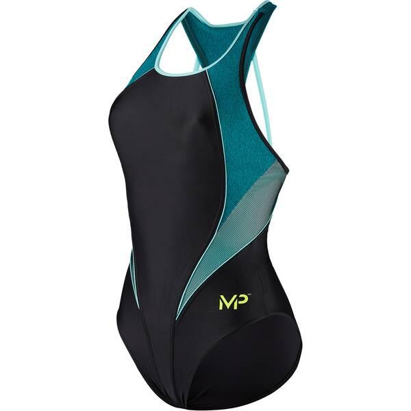 Bademode - MICHAEL PHELPS Damen Badeanzug HANOÏ › Schwarz  - Onlineshop Intersport