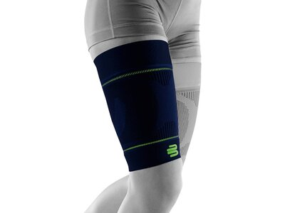 BAUERFEIND SPORTS Sleeves Sports Compression Sleeves Upper Leg (extra-long) Schwarz