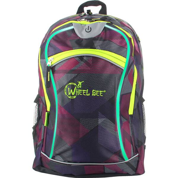 Wheel Bee® Backpack Night Vision - Purple
