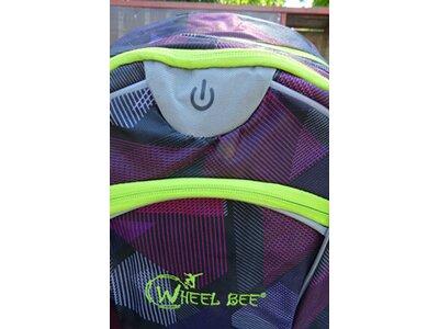 Wheel Bee® Backpack Night Vision - Purple Grau