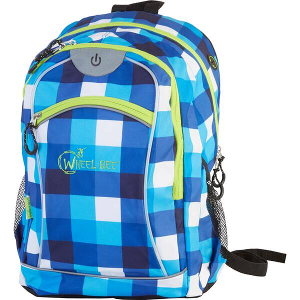 Wheel Bee® Backpack Night Vision - Blue/White