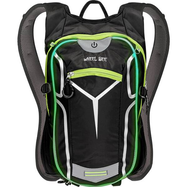 Wheel Bee® Bike Backpack Stelvio - Black