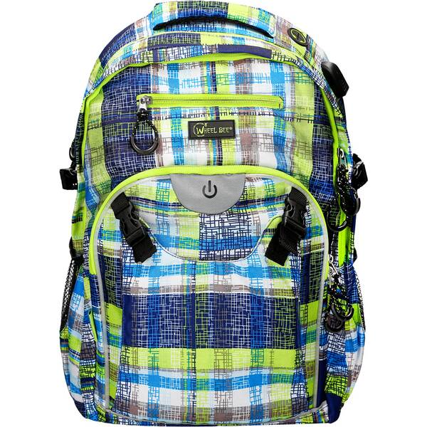 Wheel Bee® Backpack Generation Z - Blue/Green/White