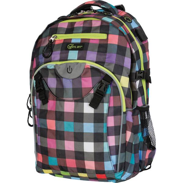 Wheel Bee® Backpack Generation Z - Lady Multicolour