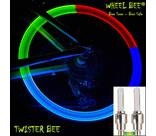 Vorschau: WHEEL BEE LED Bicycle Lights Twister, 2pcs. Blistercard