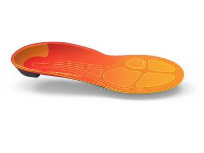 SUPERFEET Einlegesohle RUN Pain Relief Orange
