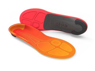 SUPERFEET Einlegesohle RUN Pain Relief Orange