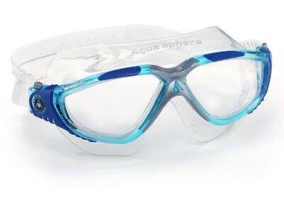 AQUA SPHERE Schwimmaske VISTA Blau