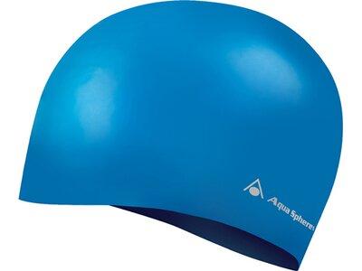 AQUA SPHERE Badekappe CLASSIC SILICONE Blau