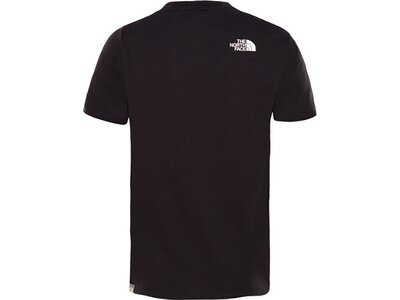 THE NORTH FACE Kinder Shirt Y S/S EASY TEE Schwarz
