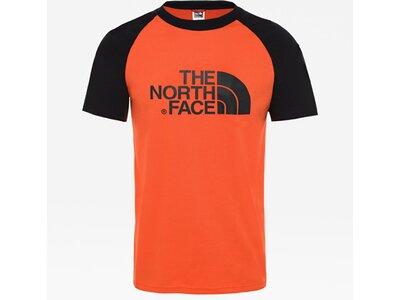 "THENORTHFACE Herren T-Shirt ""M S/S Raglan Easy Tee"" Pink"