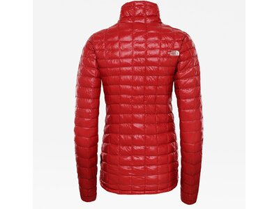 THE NORTH FACE Damen Funktionsjacke W ECO TBALL Rot