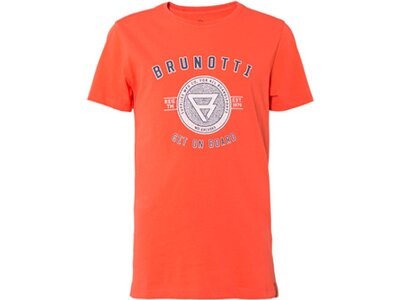 BRUNOTTI Kinder Shirt Warped Orange