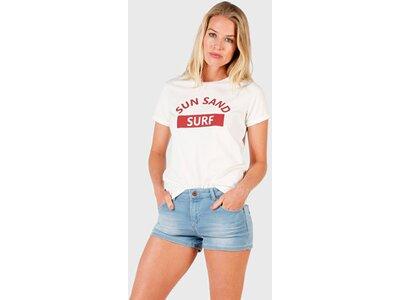 BRUNOTTI Damen T-Shirt Oulinas Rot