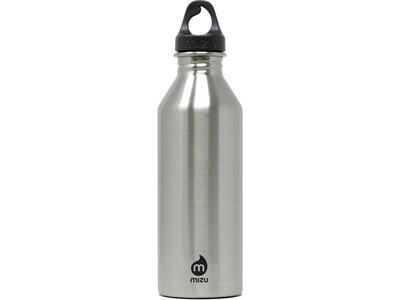 MIZU Trinkflasche M8 SINGLE WALL Grau