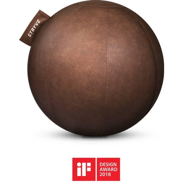 STRYVE  Sitzball Ball Lederstoff 70cm