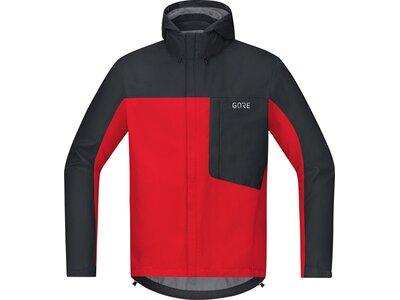 GORE GORE-TEX® Paclite® Kapuzenjacke C3 Rot