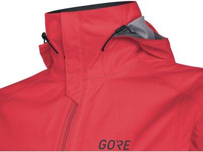 GORE Damen GORE-TEX Active Kapuzenjacke TGTESL Pink