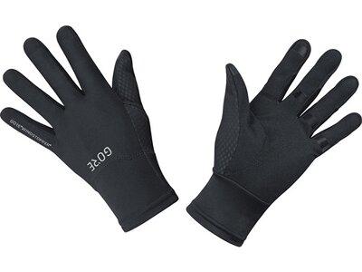 GORE WINDSTOPPER Handschuhe Schwarz