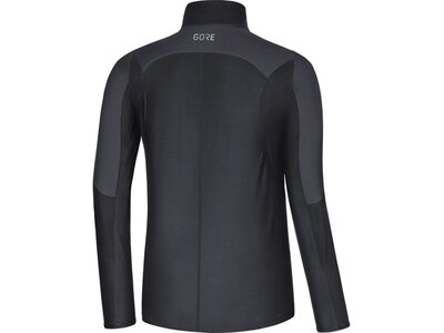 GORE WEAR Herren R5 Partial WINDSTOPPER® Shirt Schwarz