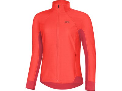 GORE Damen Partial WINDSTOPPER Shirt Orange
