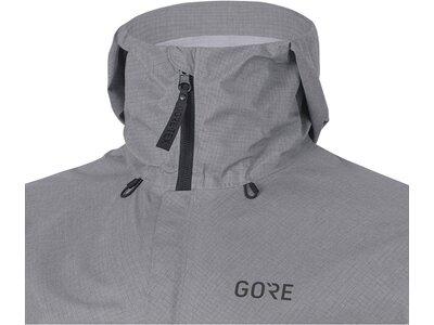 GORE H5 Herren GORE-TEX Active Kapuzenjacke Grau