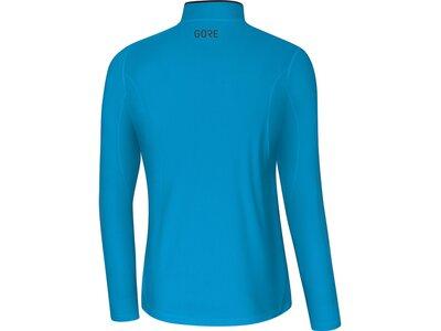 GORE Herren Zip Shirt langarm Blau
