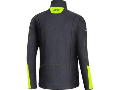 GORE® M Thermo Zip Shirt langarm Schwarz