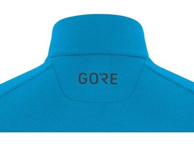 GORE WEAR Herren Mid Long Sleeve Zip Shirt Schwarz