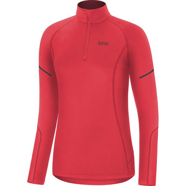GORE WEAR Damen Mid Long Sleeve Zip Shirt