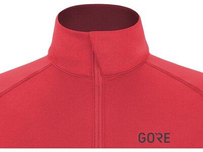GORE WEAR Damen Mid Long Sleeve Zip Shirt Pink
