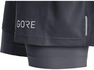 GORE® R5 2in1 Shorts Schwarz