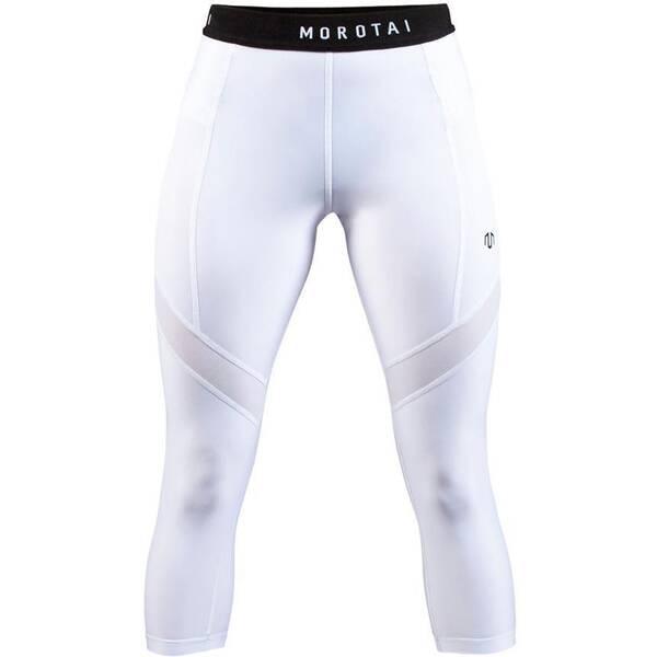 MOROTAI Damen 3/4 Sport-Leggings Capri Performance Tights