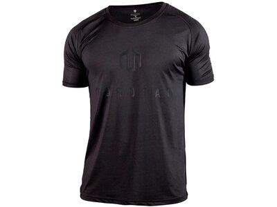 MOROTAI Herren T-Shirt Performance Basic Schwarz