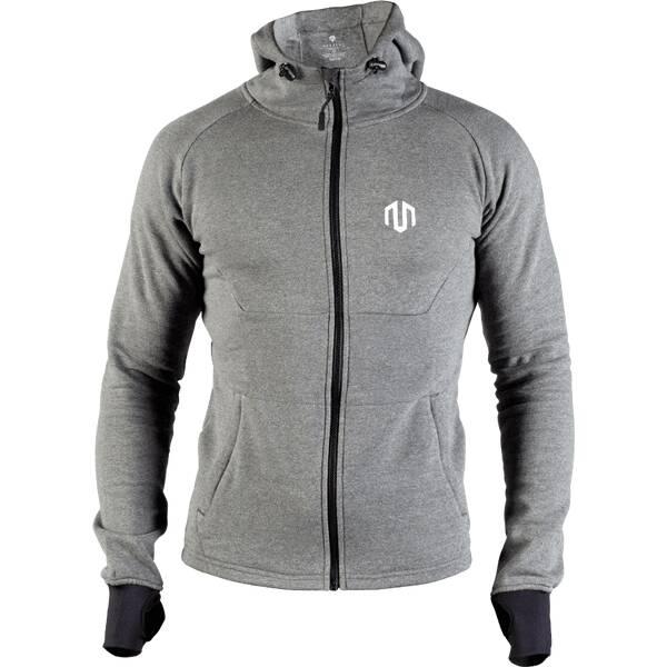 MOROTAI Herren Sport-Sweatjacke Neotech Full Zip Hoodie