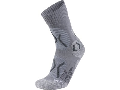 UNLEASH YOUR NATURE Damen Trekkingsocken TREKKING COOL MERINO Grau