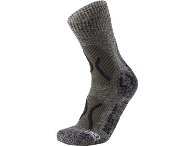 UNLEASH YOUR NATURE Damen Trekkingsocken TREKKING EXPLORER LIGHT Grau
