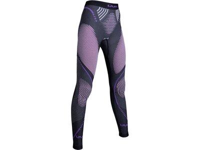 UNLEASH YOUR NATURE Damen Unterhose EVOLUTYON UW PANTS LONG MELANGE Grau