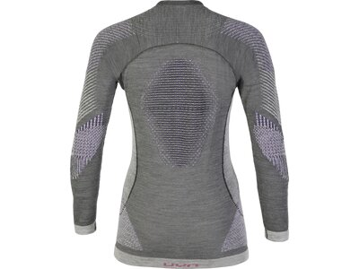 UNLEASH YOUR NATURE Damen Longsleeve FUSYON UW SHIRT LG_SL Grau