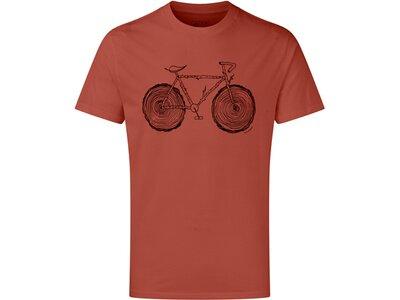 TENTREE Herren Shirt Elms Classic T-Shirt Rot