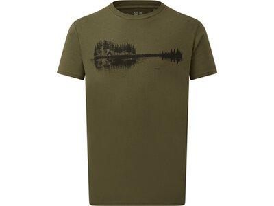 TENTREE Herren Shirt M Summer Guitar T-Shirt Grün
