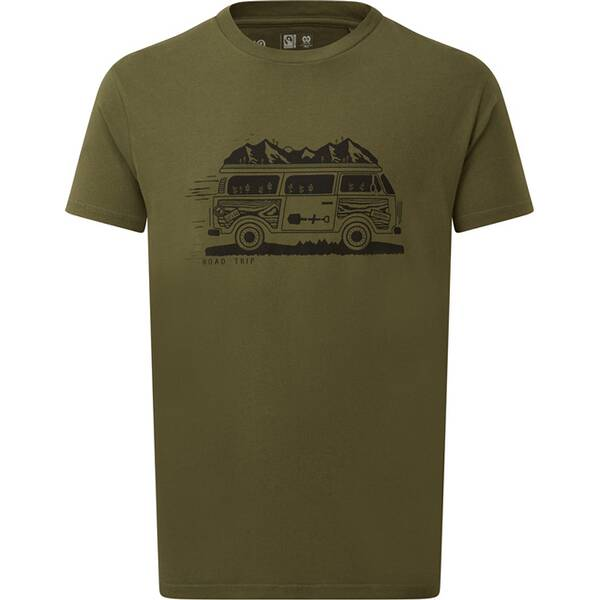 TENTREE Herren Shirt M Road Trip T-Shirt