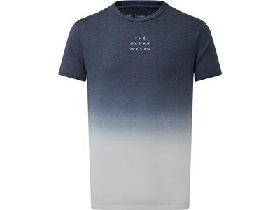 TENTREE Herren Shirt M Dip Dye T-Shirt Blau