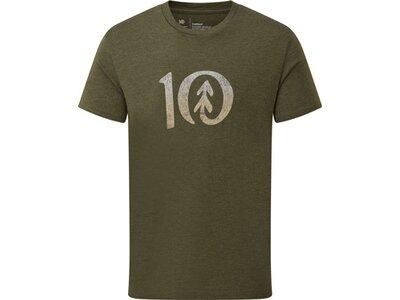 TENTREE Herren Shirt M Gradient Ten T-Shirt Grün
