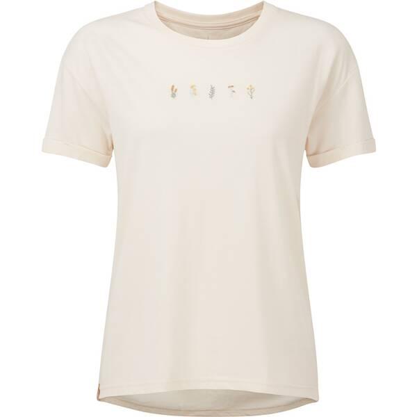 TENTREE Damen Shirt W River Flowers Embroidery T-Shirt