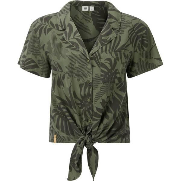TENTREE Damen Bluse W Meander Tie Front Shirt