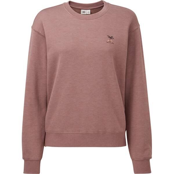 TENTREE Damen Sweatshirt W Palm Sunset Embroidery Crew