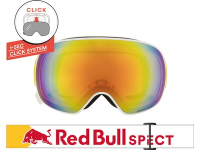 RED BULL SPECT Skibrille MAGNETRON Silber