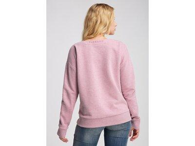 ELBSAND Damen Sweatshirt FINNIA Rot