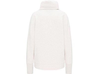 ELBSAND Damen Sweatshirt ES ARNDIS 009 BB01 Weiß
